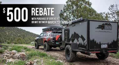 $500 rebate on XT and MXT models