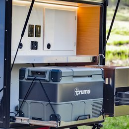 Integrated Truma fridge: trailer manufacturers add comfort to your trip | Boreas Campers Homepage