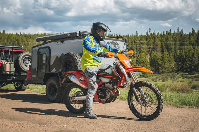 BOREAS MXT - for scenic drive and bike trips