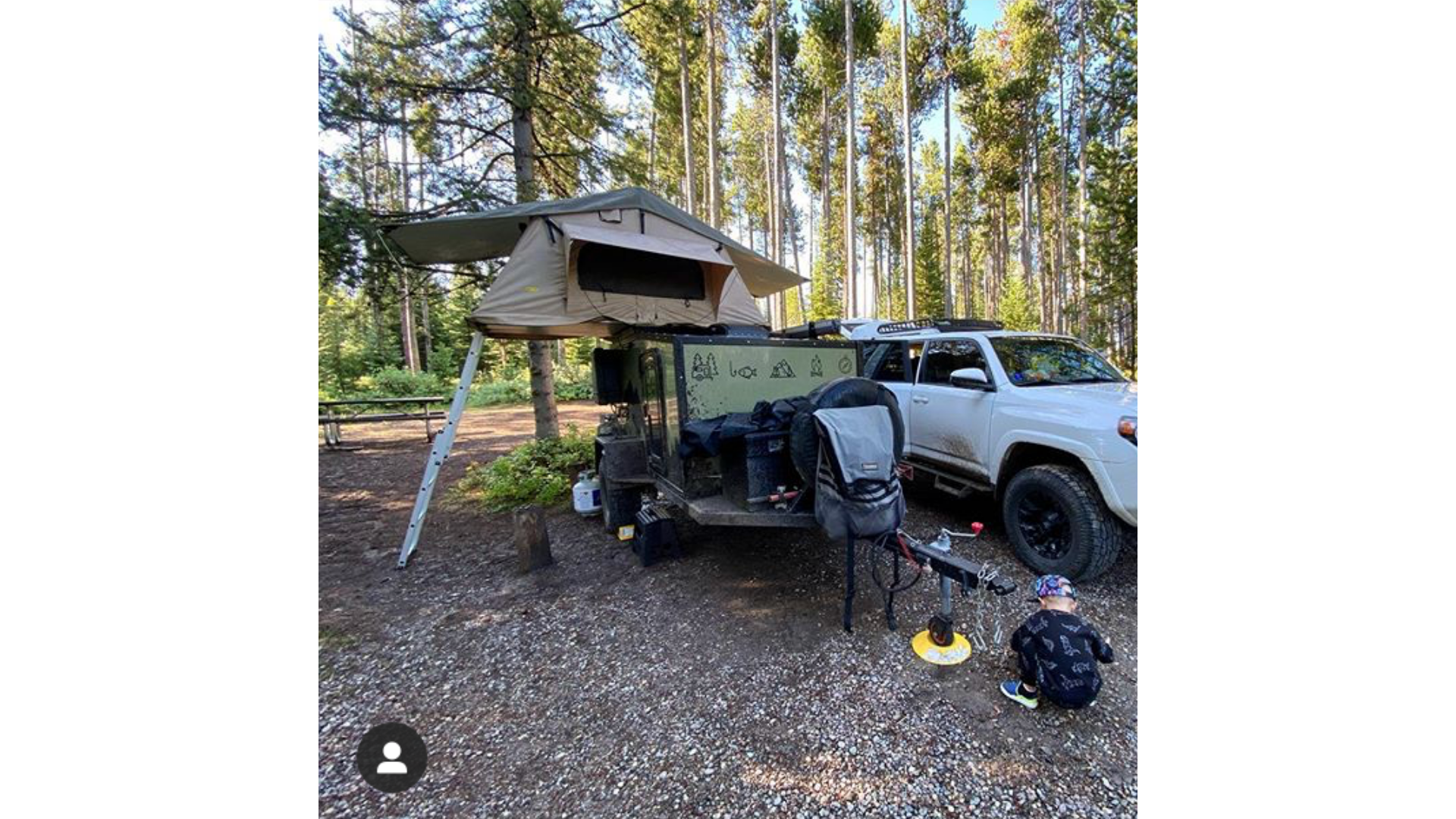 Roof Top Tents on the Boreas Offroad Camper Trailer